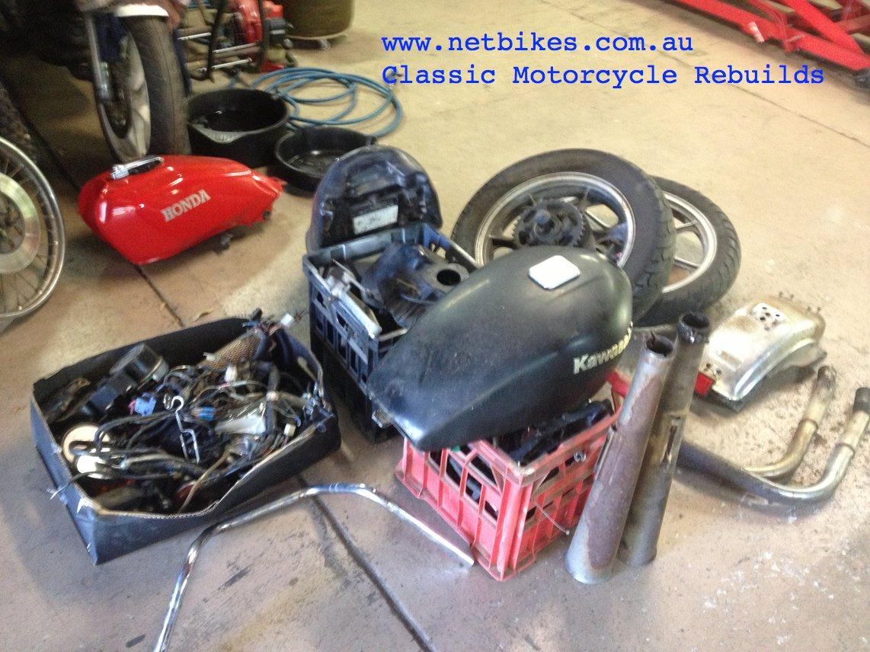Netbikes Kawasaki Kz750 Twin Motorcycle Auctions Motorcycle Sales